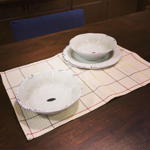 食器 MELAMINE CRACKED PLATE&BOWL